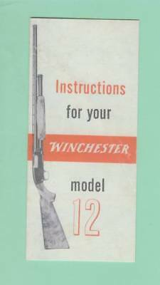 Winchester Model 61 Owners Manual Reproduction