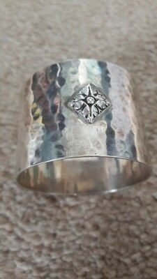 Antique Arts And Crafts Silver Napkin Ring