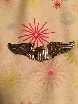 WW2 Airforce wings Sterling 3 Inch