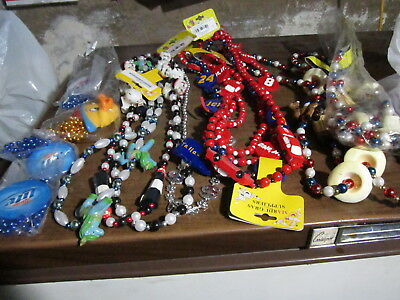 Lot Of 160 Party Specialty & Bead Necklaces ,Great  Lot -