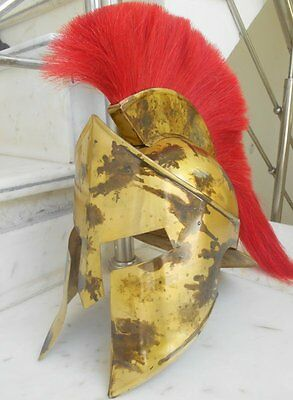 Medieval 300 Movie Spartan Helmet King Leonidas Halloween Helmet Replica Gift