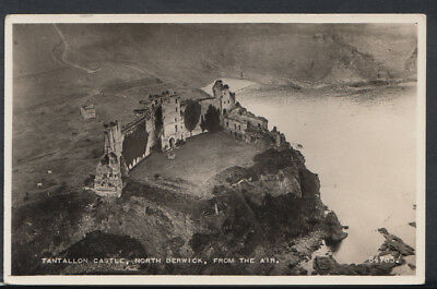 Scotland Postcard - Tantallon Castle, North Berwick, From The Air      T1883