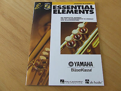 Essential Elements Band 1 mit CD Trompete in b