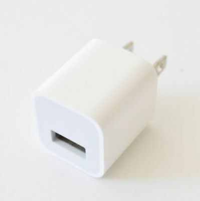 OEM Authentic Apple 5W USB Power Adapter Charger Wall Plug Cube for iPhone iPo