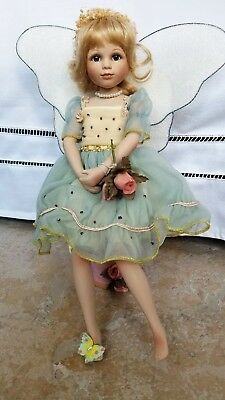 Geppeddo Collector Series Porcelain Doll Tatyana Fairy Doll MINT! RARE!
