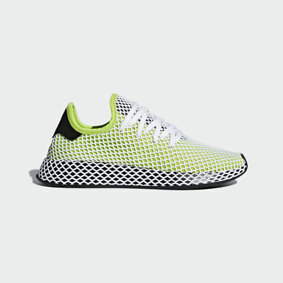 125af5f77dac Adidas Originals Deerupt Runner Semi Solar Slime Running Shoes Men New  B27779