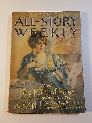 All-Story Weekly Mar 17, 1917 The HoneyMoon Detective by Arnold Fredericks