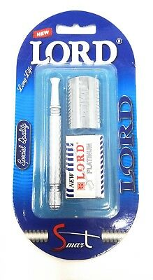 LORD Premium Safety Razor | Double Edge Razor | Model S625 | L1822 / L6