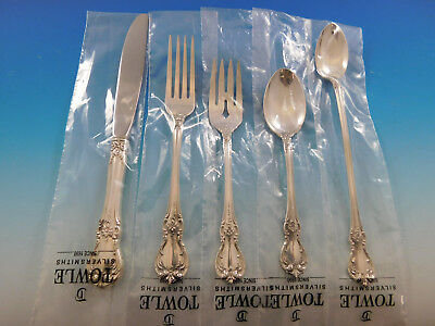 Honest Old Master By Towle Sterling Silver Flatware Set For 8 Service 82 Pieces Furniture