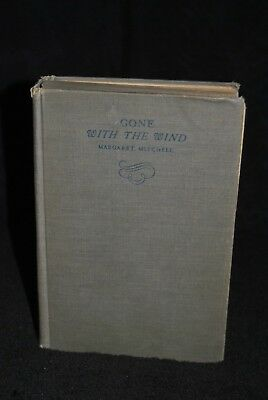 GONE WITH THE WIND by Margaret Mitchell (1936 First Edition December Printing)