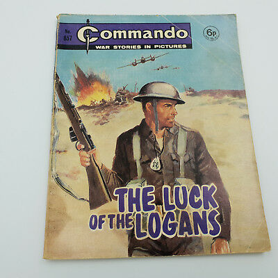 Commando Comic #857 Original Rare Issue From 1974 VG/F