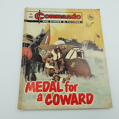 Commando Comic #858 Original Rare Issue From 1974 F-