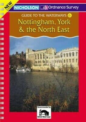Nottingham, York and the North East (Nicholson... by Perrott, David Spiral bound