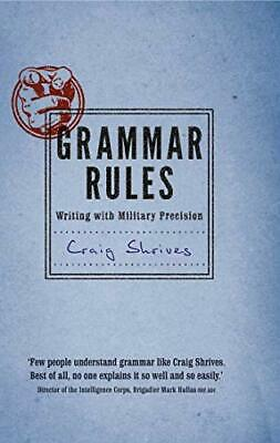 Grammar Rules by Shrives, Craig Book The Cheap Fast Free Post