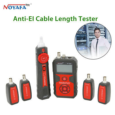 NOYAFA NF-858C LCD Display Anti-EL Cable Wire Lan Length Tester High Quality Hot