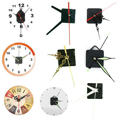 HOT!!! Quartz clock movement (mechanism). Complete with hands and Parts Pendulum