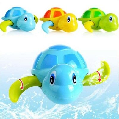 Lovely Swimming Turtle Chain Bath Toys For Baby Kids Children Bathtub Pool Gifts