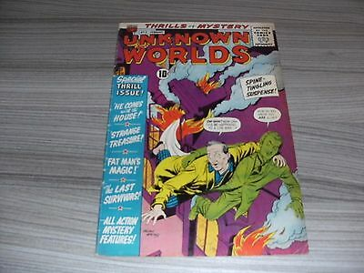Unknown Worlds #5. Fine- (5.5). American Comics Group. Acg. February 1961.