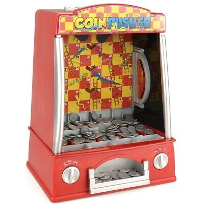 Table Top Coin Pusher Game Arcade Machine Penny Falls Fairground Toy ToyStar