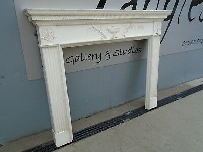 Reproduction Adam Type Fire Place Surround Mantle Piece Shelf Georgian Victorian