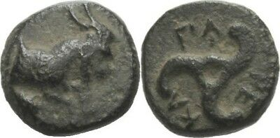 Bronze 380-360 Lycia Dynasts Perikles, 380-360, Goat #FB220