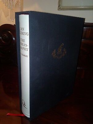 IAN FLEMING: THE BIBLIOGRAPHY - Signed UK 1st limited edition Presentation