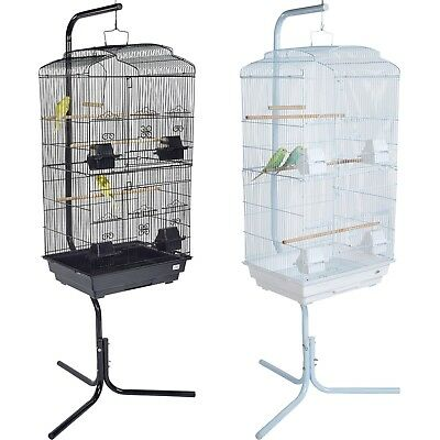 Pet Ting Bluebell Large Bird Cage with Stand Finch Canary Parakeet Cockatiel