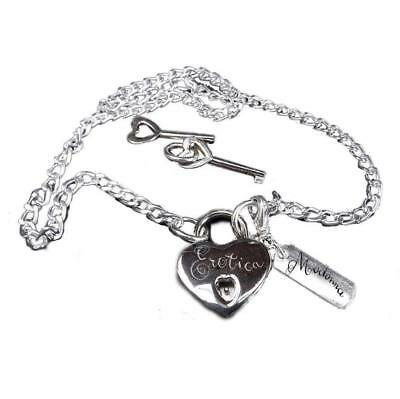 Madonna - Erotica Lock & Key Official Necklace Fanclub Exclusive (New / Sealed)