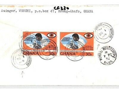 CF230 1976 Ghana *WENCHI* Brong-Ahafo MISSIONARY Air Cover MIVA Vehicles Austria