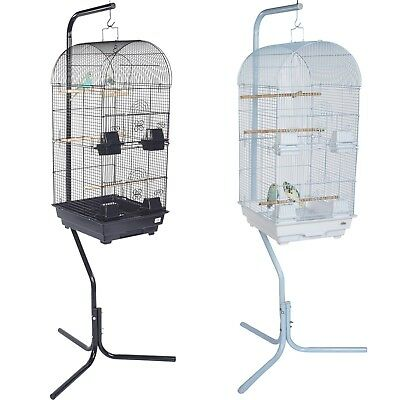 Pet Ting Delphinium Large Bird Cage with Stand Finch Canary Budgie Cockatiel