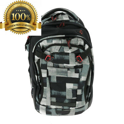 Satch School Backpack Multicolour City Fitty Breite ca. 30 cm, Höhe 45 Tiefe...
