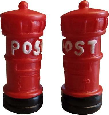Fairy Garden Accessories - Miniature Red Postbox (2 Supplied)