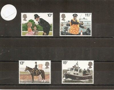 Great Britain 1979 SG100-3 4v set NHM Met Police (London Area) 150th Anniversary