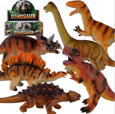 Children Toy Dinosaur Large Rubber Play Figures Children Stuffed Action Figure
