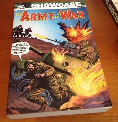 "Dc Showcase Presents Library Classic ""our Army At War"" Vol 1"