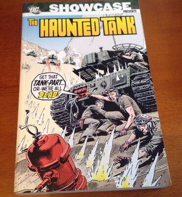 "Dc Showcase Presents Library Classic ""the Haunted Tank"" Vol 2"