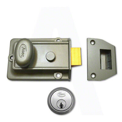 ASEC PUSH BUTTON Mechanical Digital Combination Code Door Lock Keyless  Access