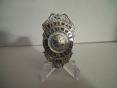 Obsolete Kissimmee Florida Fire Badge