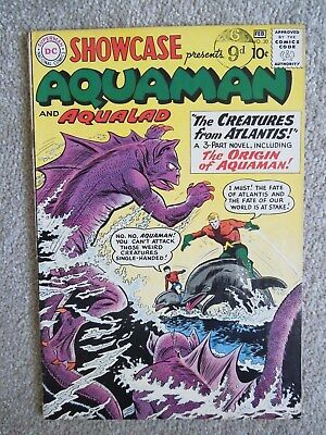 Showcase #30 (Vol 1 1961) - 1st Silver Age Aquaman