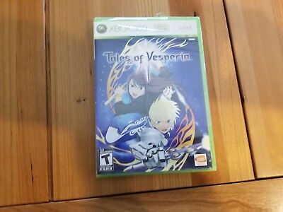 Tales of Vesperia (Microsoft Xbox 360, 2008), Brand new, Sealed!