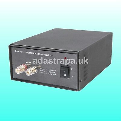 Mercury 12V Benchtop Switch-Mode Power Supplies 15A 20A 30A 40A and 0-20V 2A
