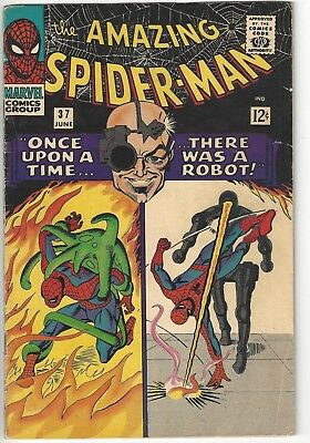 The Amazing Spider-Man #37 (1966) - Stan Lee Steve Ditko Spider-Man