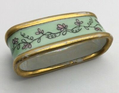 VINTAGE MOTHER OF PEARL NAPKIN Ring Rare Collectible Unusual