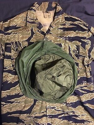 NWT Authentic Vietnam War Era Dated 1967 Insect Headnet Hat Cover ((L@@K!))