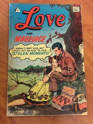 Love and Marriage #8 IW Comics 1952 GD Romance