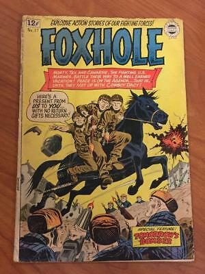 Foxhole #17 Super Comics 1964 GD/VG War