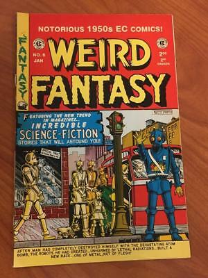 Weird Fantasy #6 Gemstone Comics reprint EC Comics FN+