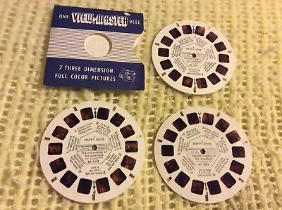 Viewmaster - Happy Days - 3 x Reel Set