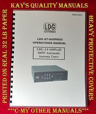 ICOM IC-25H  Instruction Manual w/Heavy Covers  ****C-MY OTHER MANUALS****