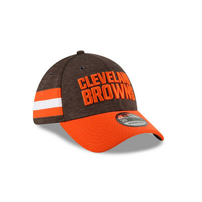 7044f207181 New Era NFL CLEVELAND BROWNS Authentic 2018 Sideline 39THIRTY Stretch Fit  Home C